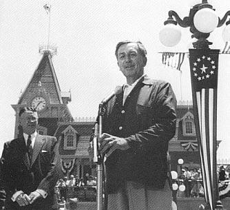 Walt Disney Opening Day Speech Disneyland