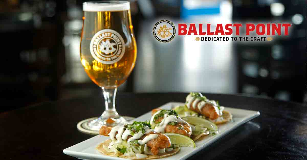 Ballast Point Fish Tacos